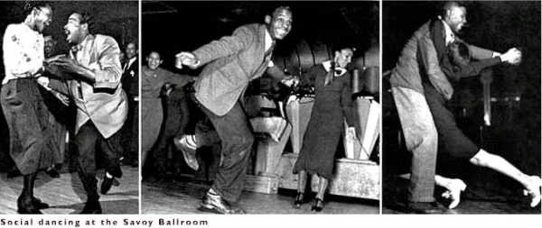 Lindy Dancers at the Savoy Ballroom